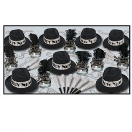 Swingin' Silver Asst for 50 - Party Accessory Sets