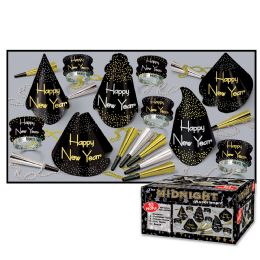 Midnight Asst for 10 NO RETAIL PRICE ON CARTON - Party Accessory Sets