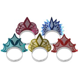 50 Units of Princess Tiaras asstd colors - Party Hats & Tiara