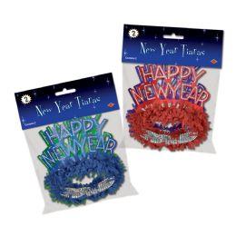 12 Units of Pkgd HNY Regal Tiaras asstd colors - Party Hats & Tiara
