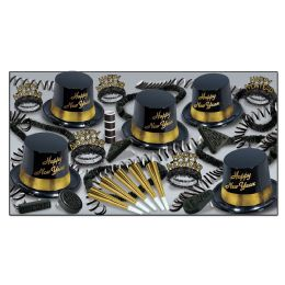 Gold Legacy Asst For 10 No Retail Price On Carton - Party Accessory Sets