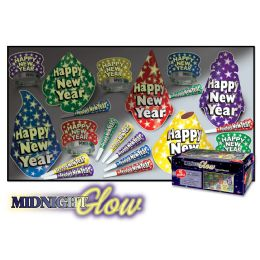 Midnight Glow Asst for 10 NO RETAIL PRICE ON CARTON - Party Accessory Sets