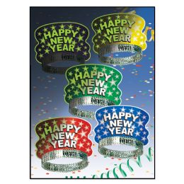 50 Units of Midnight Glow Tiaras asstd colors - Party Accessory Sets