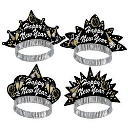 50 Units of New Year Tymes Tiaras - Party Accessory Sets