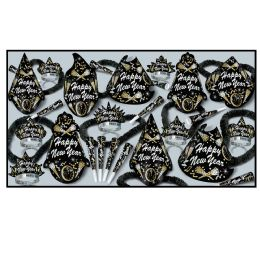 New Year Tymes Asst For 50 - Party Accessory Sets