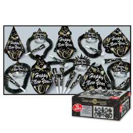 New Year Tymes Asst for 10 NO RETAIL PRICE ON CARTON - Party Accessory Sets