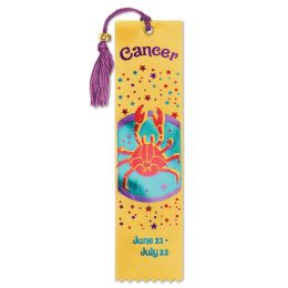 6 Units of Cancer Bookmark - Bulk Toys & Party Favors