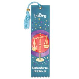 6 Units of Libra Bookmark - Bulk Toys & Party Favors