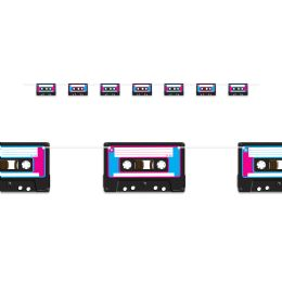 12 Units of Cassette Tape Streamer assembly required - Party Banners