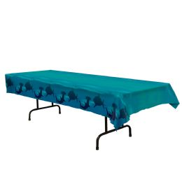 12 Units of Shark Tablecover Plastic - Party Supplies