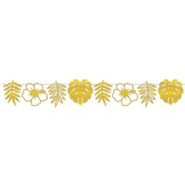 12 Units of Foil Die-Cut Floral Streamer assembly required - Party Banners