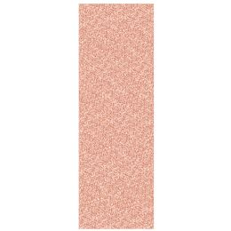 12 Units of Printed Sequined Tablecover Rose Gold; Plastic - Party Supplies