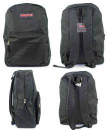 "12 Units of 15"" Classic Puresport Backpacks - Black - Backpacks"