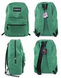 "12 Units of 15"" Classic Puresport Backpacks - Green - Backpacks"