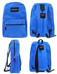 "12 Units of 15"" Classic Puresport Backpacks - Blue - Backpacks"