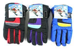 36 Units of Children's Ski Gloves - Ski Gloves