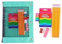 12 Units of Basic Elementary School Supply Kits - School Supply Kits