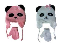48 Units of Baby Hat & Glove Set - Winter Sets Scarves , Hats & Gloves