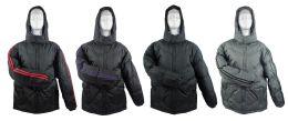 14 Units of Men's Winter Bubble Ski Jackets W/ Hood - Choose Your Color(s) - Mens Jackets