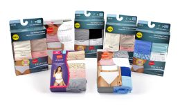 24 Units of Hanes Women's Underwear - 4-Packs - Assorted Styles