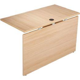 Lorell Concordia Series Latte Laminate Desk Ensemble - Office Supplies