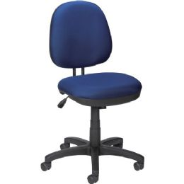 Lorell Contoured Back Task Chair - Office Chairs