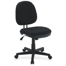 Lorell Contoured Back Tilt Task Chair - Office Chairs