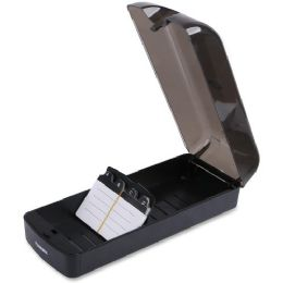 Lorell Desktop Rotary Card File - File Folders & Wallets