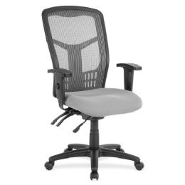 Lorell Ergomesh Seating Exec Mesh HigH-Back Chair - Office Chairs