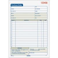TOPS Carbonless 3-Part Purchase Order Books - Order book