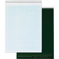 TOPS Docket Top Wire Quadrille Pad - Note Books & Writing Pads