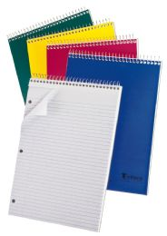 "48 Units of TOPS Earthwise 1 Subject Top Open Notebook, 11 3/4"" x 8 1/2"", Assorted Colors, College Ruled, 80 Sheets - Pens & Pencils"