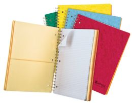 "20 Units of TOPS Earthwise by Oxford 4 Subject Notebook, 11"" x 8 7/8"", 200 sheets, College Ruled, Assorted Colors - Notebooks"