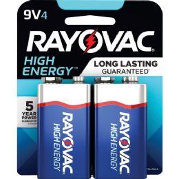 144 Units of Rayovac Alkaline 9v Battery, Blue/gray - Batteries