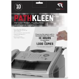 Read Right Pathkleen Laser Printer Cleaning Sheets - Janitorial Supplies