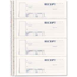 Rediform 3-part Wirebound Money Receipt Book - Receipt book