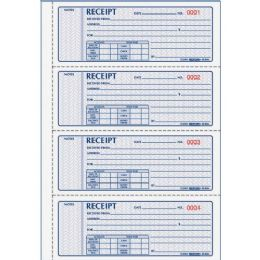 Rediform 3-pt Carbonless Money Receipt Book - Receipt book