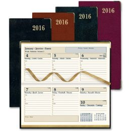 50 Units of Rediform Aristo Bonded Leather Weekly Executive Pocket Planners - Planners & Journals