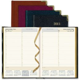 15 Units of Rediform Aristo bonded-leather Executive Daily Planner - Planners & Journals
