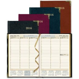 25 Units of Rediform Aristo Bonded-leather Weekly Executive Planner - Planners & Journals