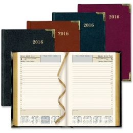 25 Units of Rediform Bonded Leather Daily Executive Planner - Planners & Journals