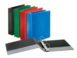 "12 Units of Cardinal Performer Non-Locking Round Ring Binder, 2"" Assorted Colors - Binders"