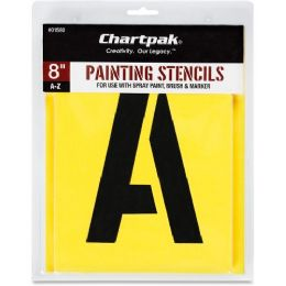 Chartpak Painting Letters/Numbers Stencils - Paint
