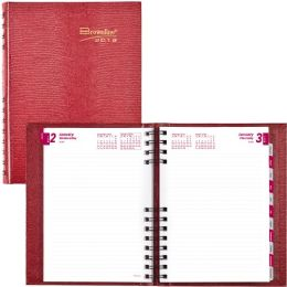Rediform CB389C Daily Untimed Feint Ruled Planner - Planners & Journals