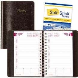 40 Units of Rediform CB634WN 2-Part Carbonless Daily Planner - Planners & Journals