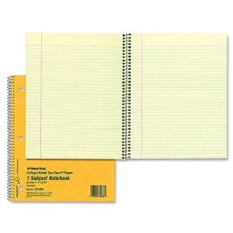 Rediform College Ruled Brown Board Cvr Notebook - Notebooks