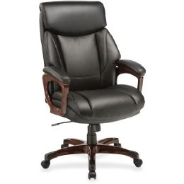 Lorell Executive Cushioned Spinning Chair - Office Chairs