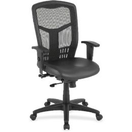 Lorell Executive HigH-Back Mesh Chair - Office Chairs