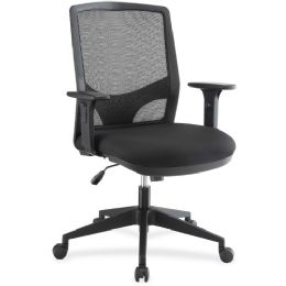 Lorell Executive Mesh Fabric Swivel Chair - Office Chairs