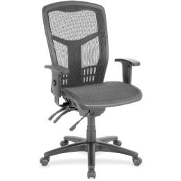 Lorell Executive Mesh HigH-Back Chair - Office Chairs